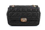 Дамска черна чанта от еко кожа 17.2289
