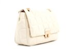 Дамска бежова чанта от еко кожа 17.2289