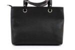 Дамска черна чанта от еко кожа 17.135