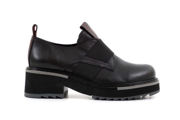 Ежедневни черни дамски обувки от естествена кожа 29.505