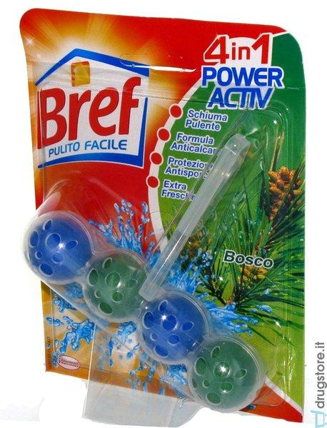 Ароматизатор за тоалетна BREF POWER ACTIVE PINO