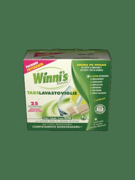 Био сертифицирани таблетки за съдомиялна WINNI`S  25 бр