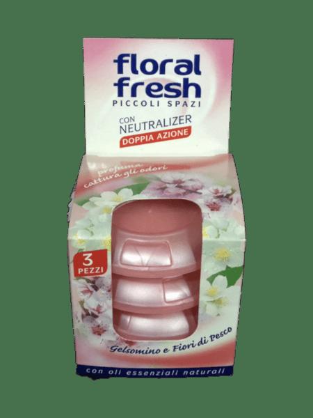 Ароматизатор FLORAL FRESH 3бр. жасмин и цвят на праскова