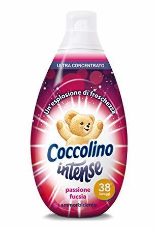 Омекотител Coccolino Intense Passion, 570мл, 38 пранета