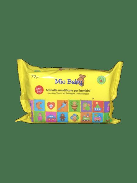 Бебешки кърпички MIO BABY x72бр.