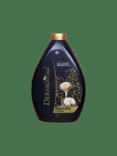 Течен крем-сапун DERMOMED с арган 1л. пълнител