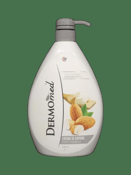 Течен крем-сапун DERMOMED с масло от ший 1л.
