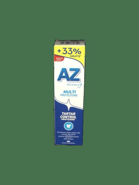 Паста за зъби AZ Dentifricio Tartar Control + Whitening  против зъбен камък+избелване 75 мл + 25мл