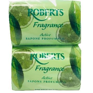 Сух парфюмен сапун ROBERTS  FRAGRANCE ACTIVE 2 бр*.100 гр