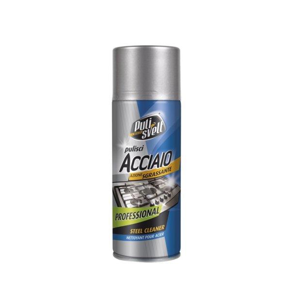 Препарат за почистване на инокс и стомана PULISVELT ACCIAIO  400 мл