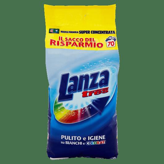 Прах за бяло и цветно пране LANZA TRES  70 пранета