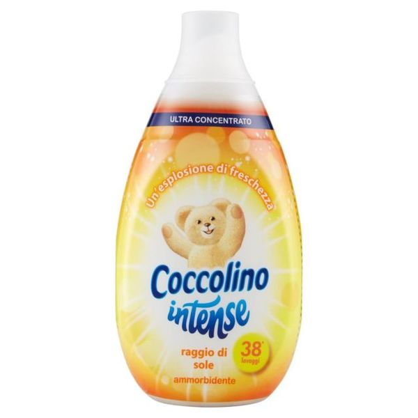 Омекотител Coccolino Intense Sole,  570мл, 38 пранета