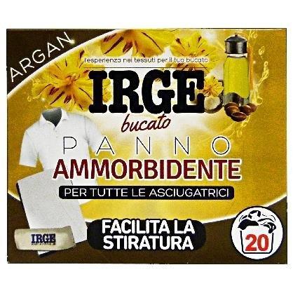 Парфюмни кърпички за сушилня и пералня с омекотител IRGE PANI ARGAN 20 бр