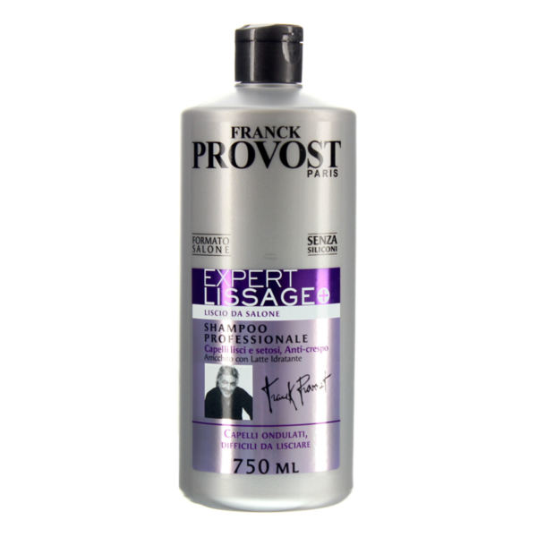 Шампоан за къдрава,чуплива и непокорна коса PROVOST EXPERT LISSAGE 750 ml
