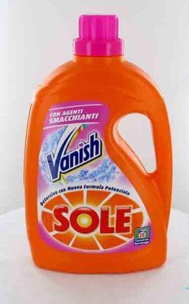 Гел за пране Sole 2 in1 Vanish Ultra с добавка против петна 28 пранета