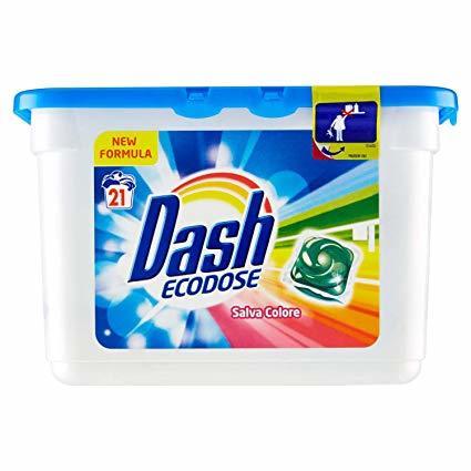 Капсули DASH SALVA COLORE Еко дози 21 бр.