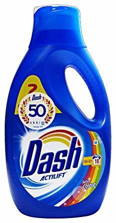 Гел за пране DASH COLOR 18 пранета