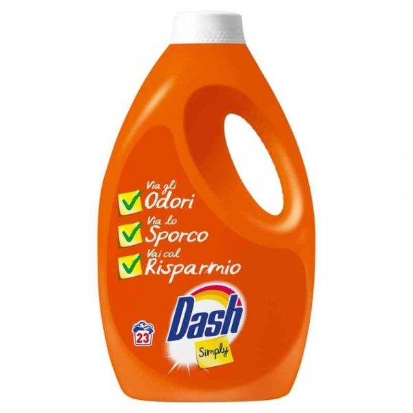 Гел за пране DASH SIMPLY 23 ПРАНЕТА