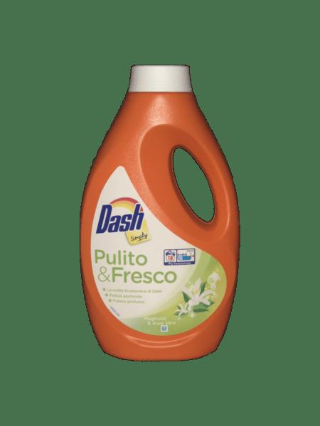 Гел за пране Dash Simply Fresco магнолия 18 пранета