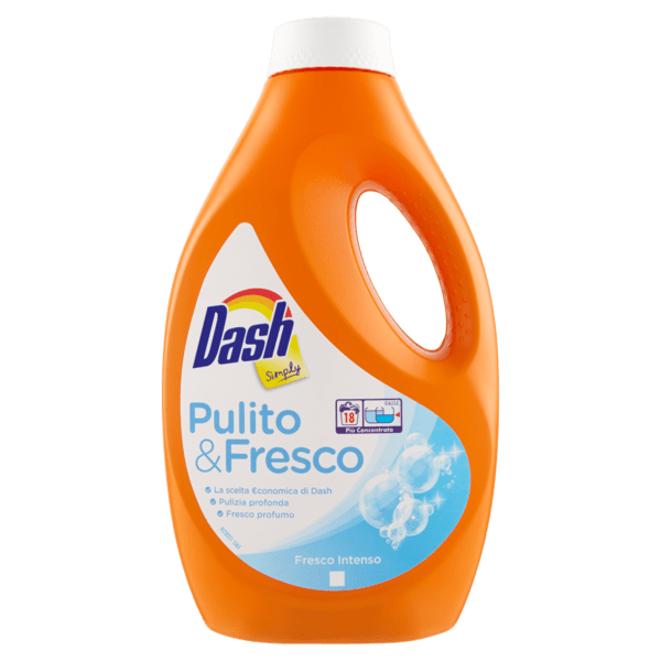 Гел за пране Dash Simply Fresco Intenso 18 пранета