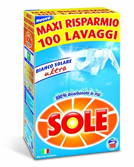 Прах за пране SOLE POLVERE FUSTONE 100 пранета