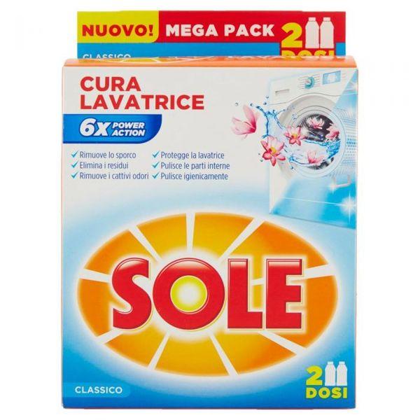 Препарат за почистване на пералнята Sole Cura Lavatrice , 2 дози , 500гр.