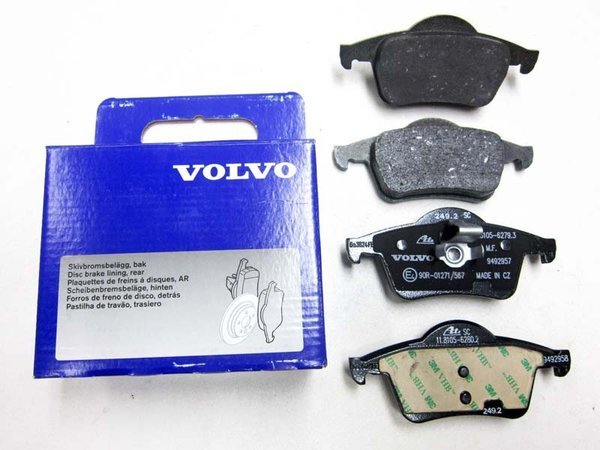 Накладки задни VOLVO 30648382 Volvo S60 (-2009), S70, S80 (-2006), V70 (-2000), V70 P26, V70 XC (-2000), XC70 (2001-2007)