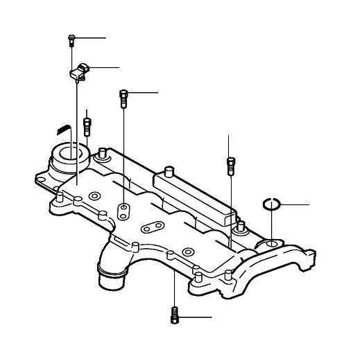 Volvo Screw/Bolt Flange screw Outer hexagon M6 Injection valve 987494