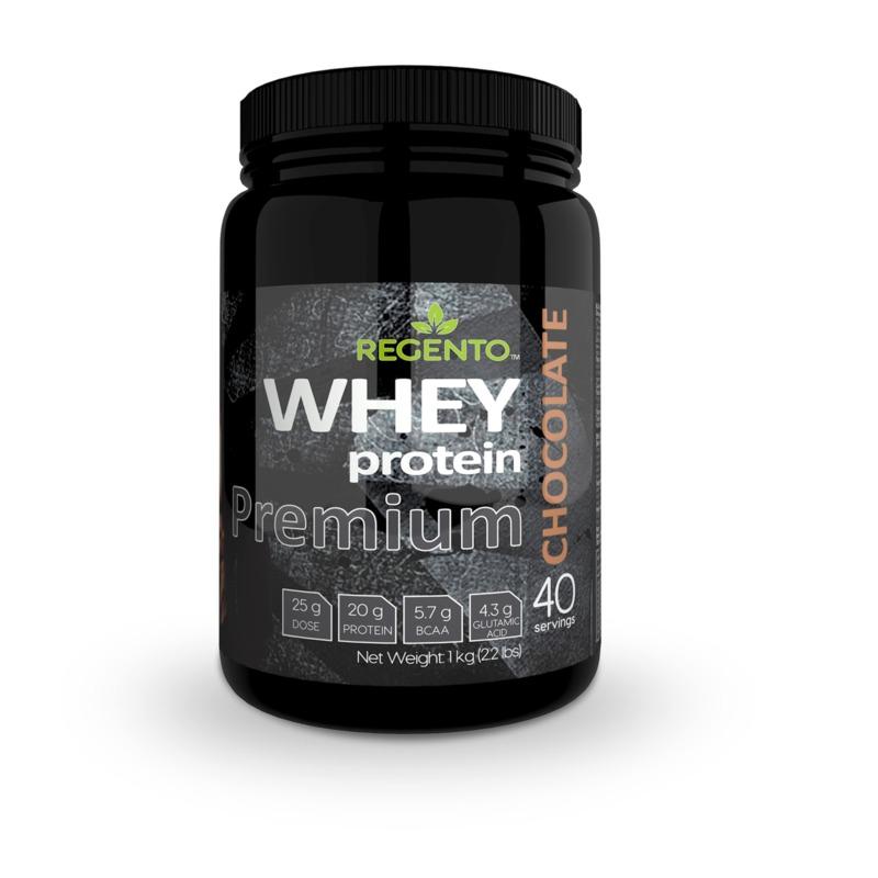 REGENTO PREMIUM 100% WHEY PROTEIN CHOCOLATE 1kg