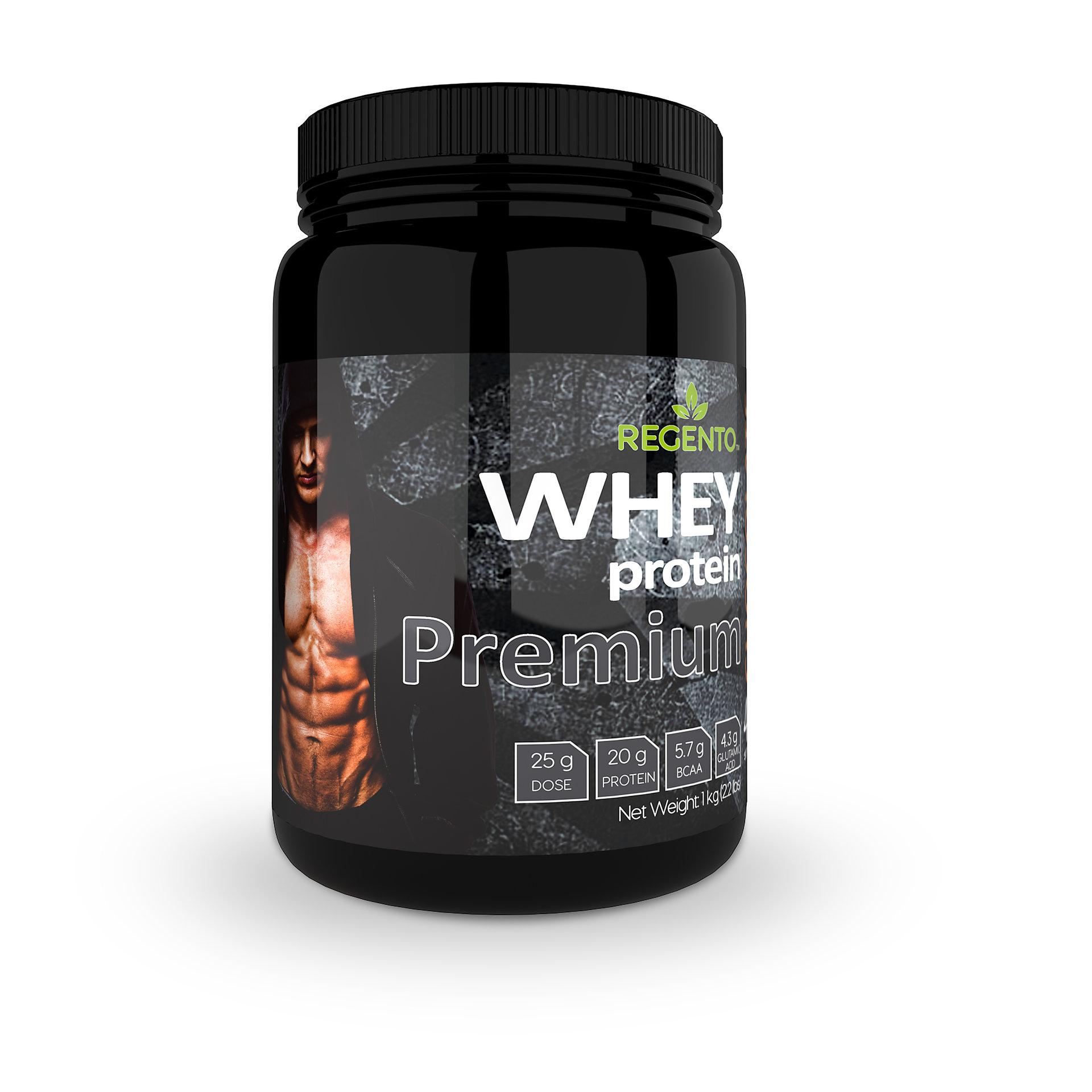 regento 100% whey protein chocolate