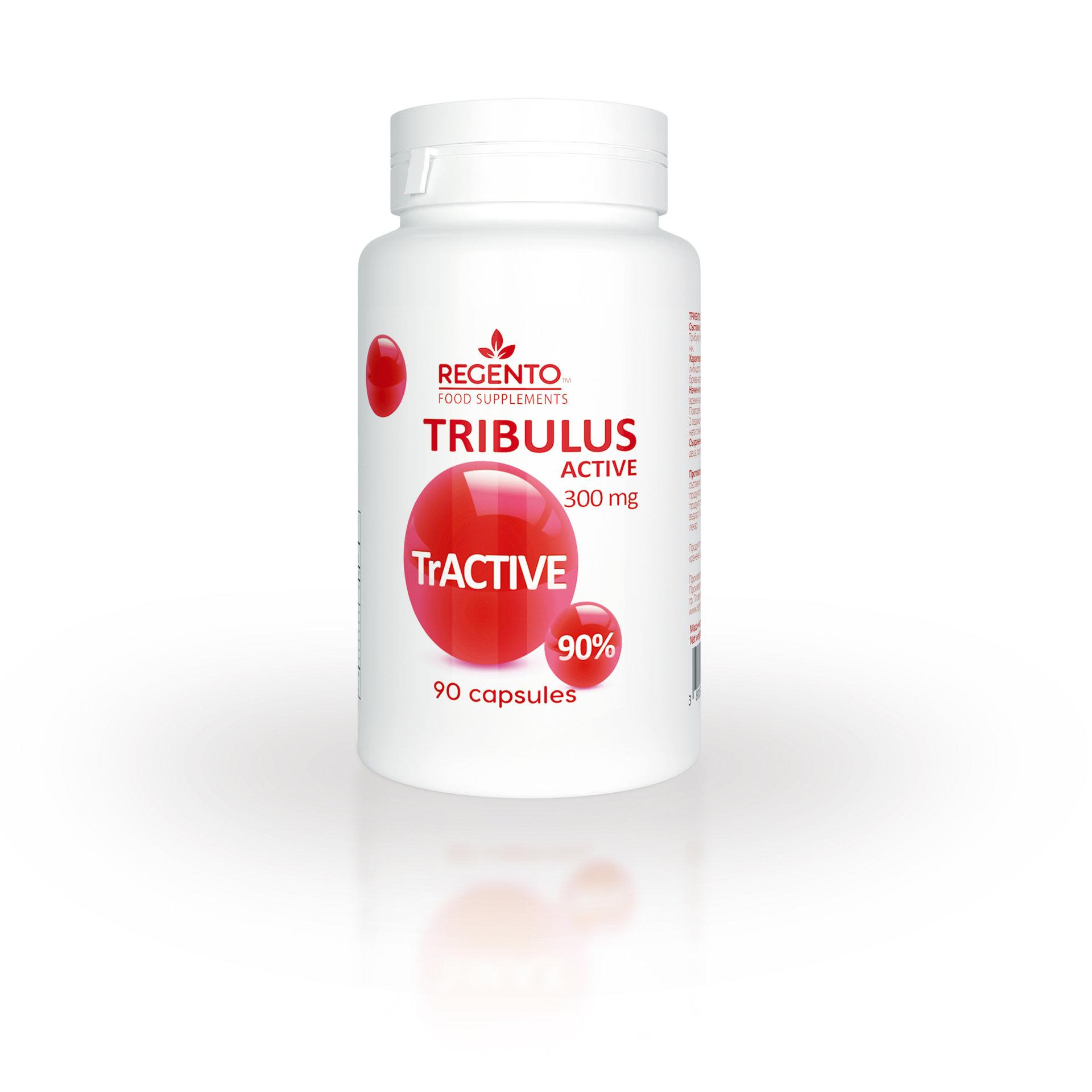REGENTO TRIBULUS ACTIVE 300mg 90 capsules
