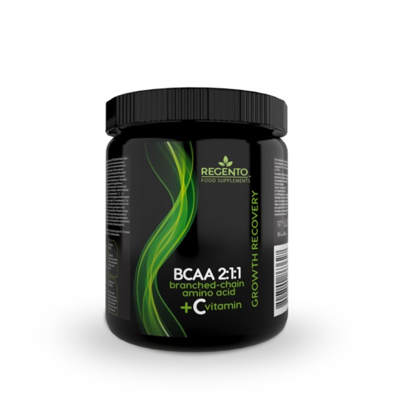 REGENTO BCAA 2:1:1 WITH VITAMIN C 350g