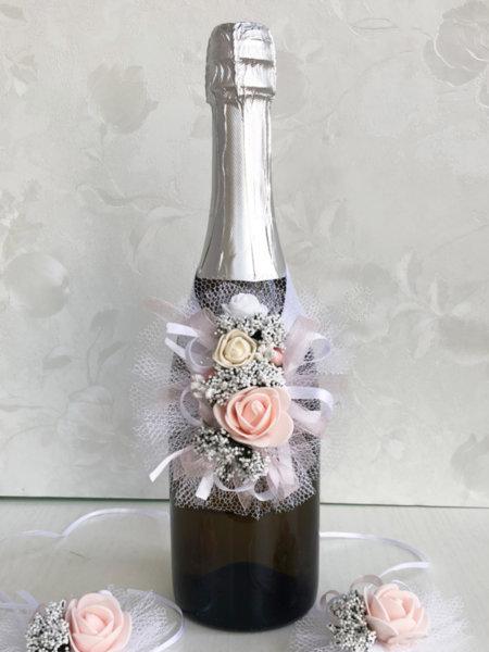 Подвижна украса за шампанско S1