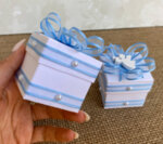 Комплект за Кръщене за момче в синьо (или цвят по избор)