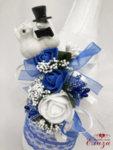 Сватбен  комплект с гълъби K3