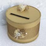 Златен сватбен комплект аксесоари K22