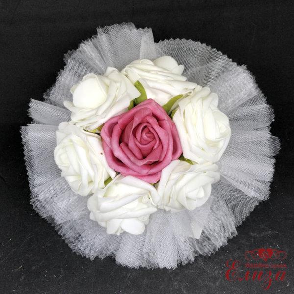 Букет за хвърляне от булката от рози Q1