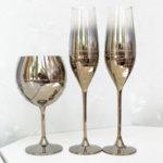 Сватбени златни чаши и бокал K32