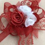 Сватбени гривни в червено F10