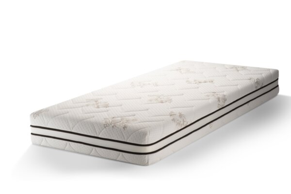 Saltea Superortopedica Bamboo 7, Sleepy, 12+4+2 cm Memory Foam