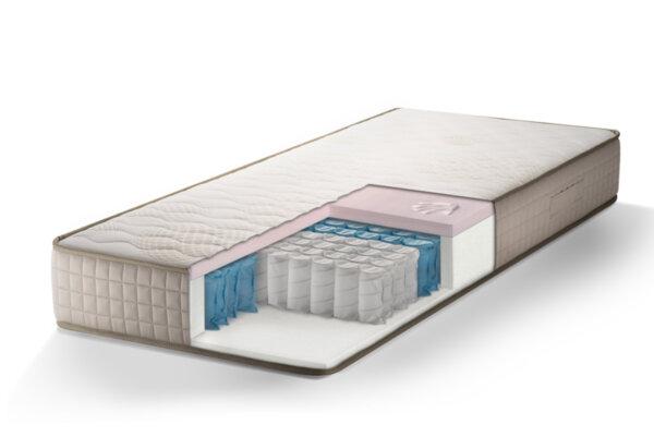 Saltea superortopedica, memory + pocket, Sleepy Exclusive Hybrid 22cm