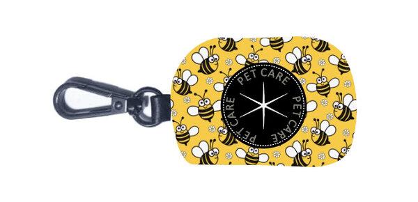 """Чантичка за тоалетни торбички - """"Пчелички"""""""