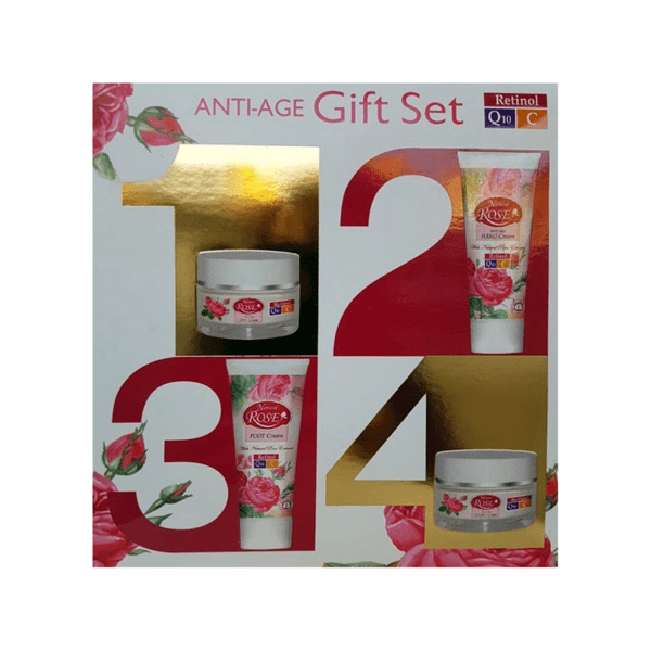 КОМПЛЕКТ ANTI AGE NATURAL ROSE