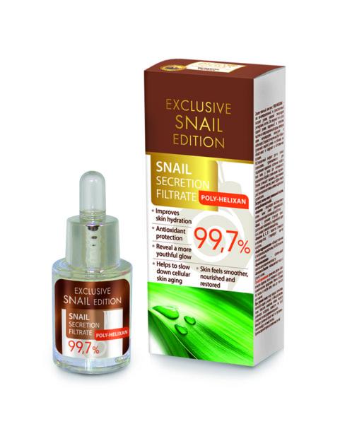 Екстракт охлюв 99,7% Exclusive snail edition