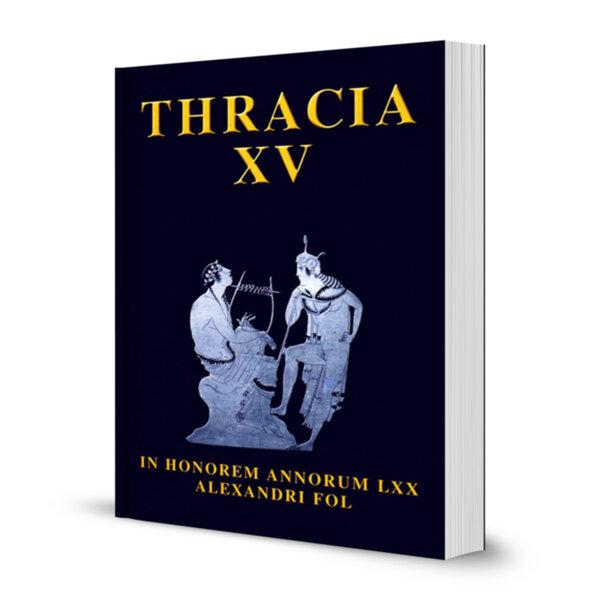 THRACIA XV IN HONOREM ANNORUM LXX ALEXANDRI FOL
