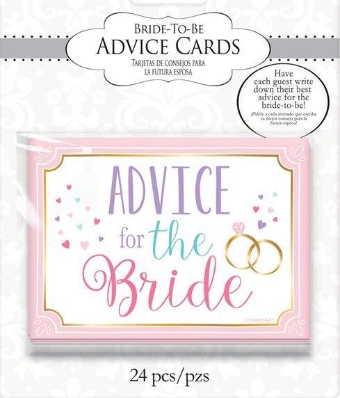 """24бр карти """" Пожелания и съвети за бъдещата булка"""""""