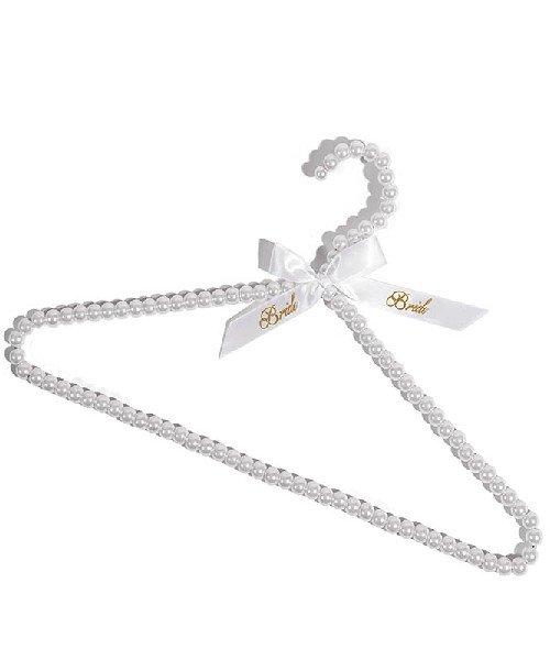 Луксозна закачалка с надпис BRIDE