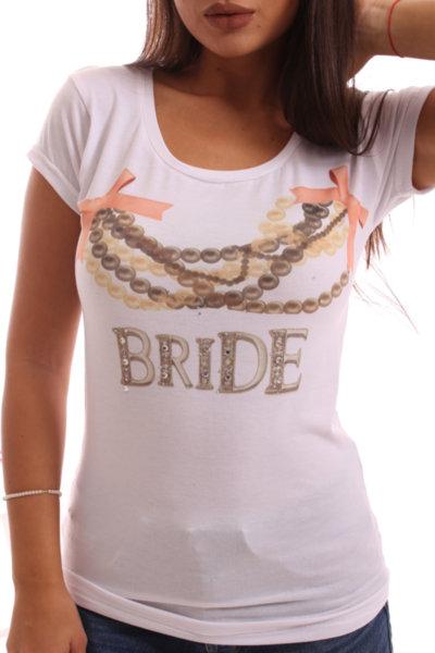 Тениска за моминско парти-Булка Бижу-2