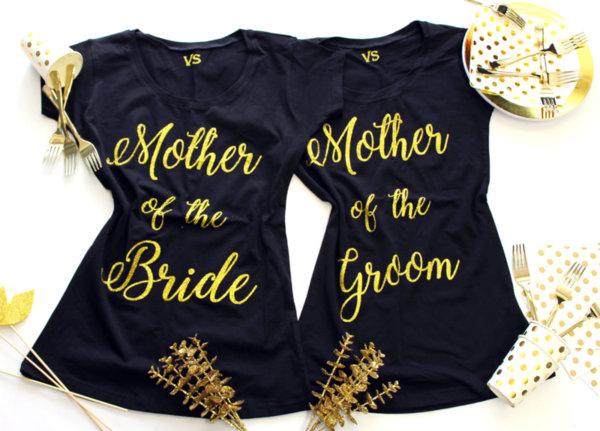 Тениски за майките на Булката или Младоженецът