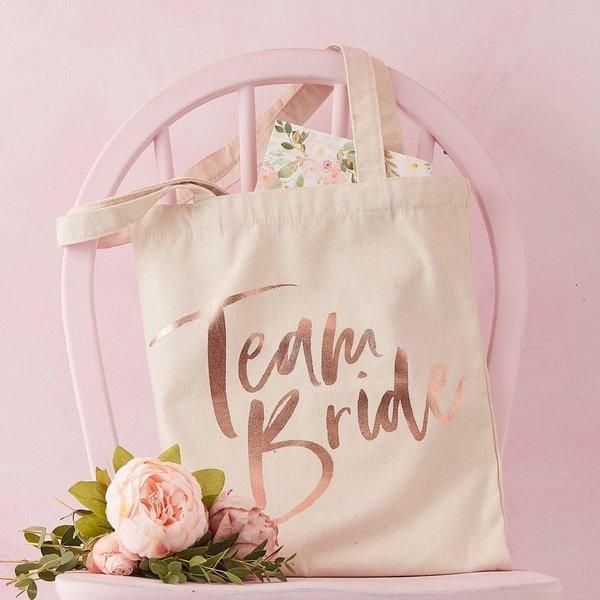 Торбичка за Моминско Парти с надпис